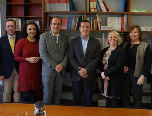 Reunió de coordinació amb el Departament de Justícia