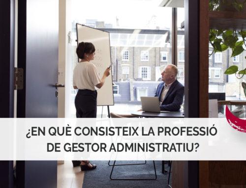 En què consisteix la professió de gestor administratiu?