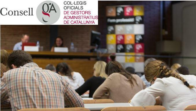 Proves Col·legis Oficials de Gestors Administratius de Catalunya