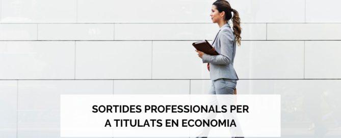 Sortides professionals per a titulats en economia